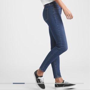 NEW!! GAP High Rise Jeans (Dark Indigo)